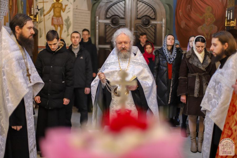 У Київських духовних школах помолилися за упокій Т.Г. Шевченка