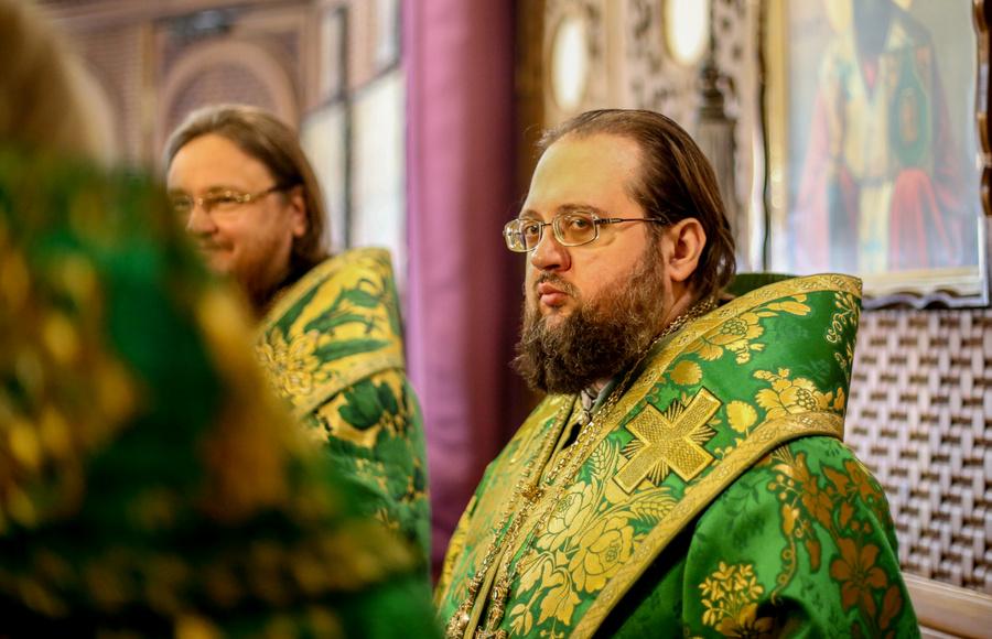 Перше інтерв'ю єпископа Білогородського Сильвестра, як ректора КДА