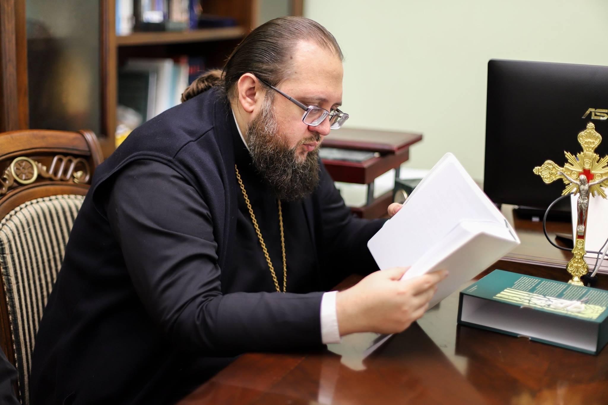 "Інтерв'ю ректора сайту ""ФОМА в Украине"": ""О трех святых ректорах — нынешний глава КДА"""
