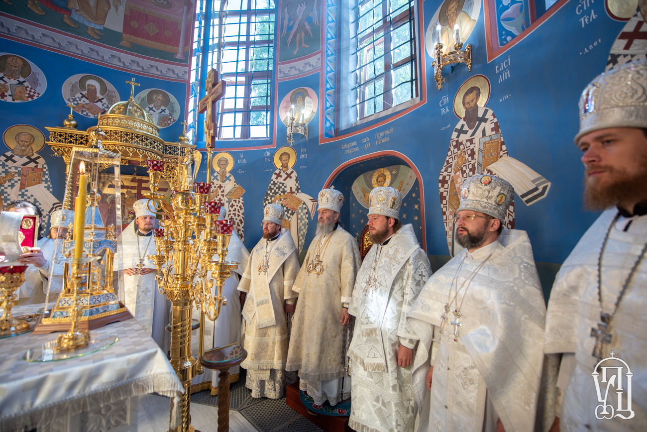 В Київських духовних школах помолились за упокій Блаженнішого Митрополита Володимира у 5-ту річницю його смерті