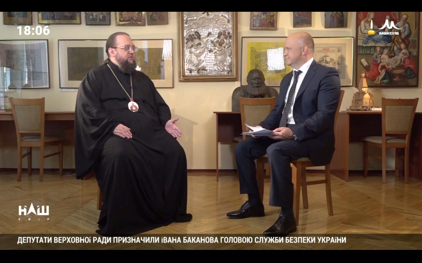 """Ректор КДАіС у програмі """"Добро і зло"""" на телеканалі """"НАШ""""  (Відео)"""