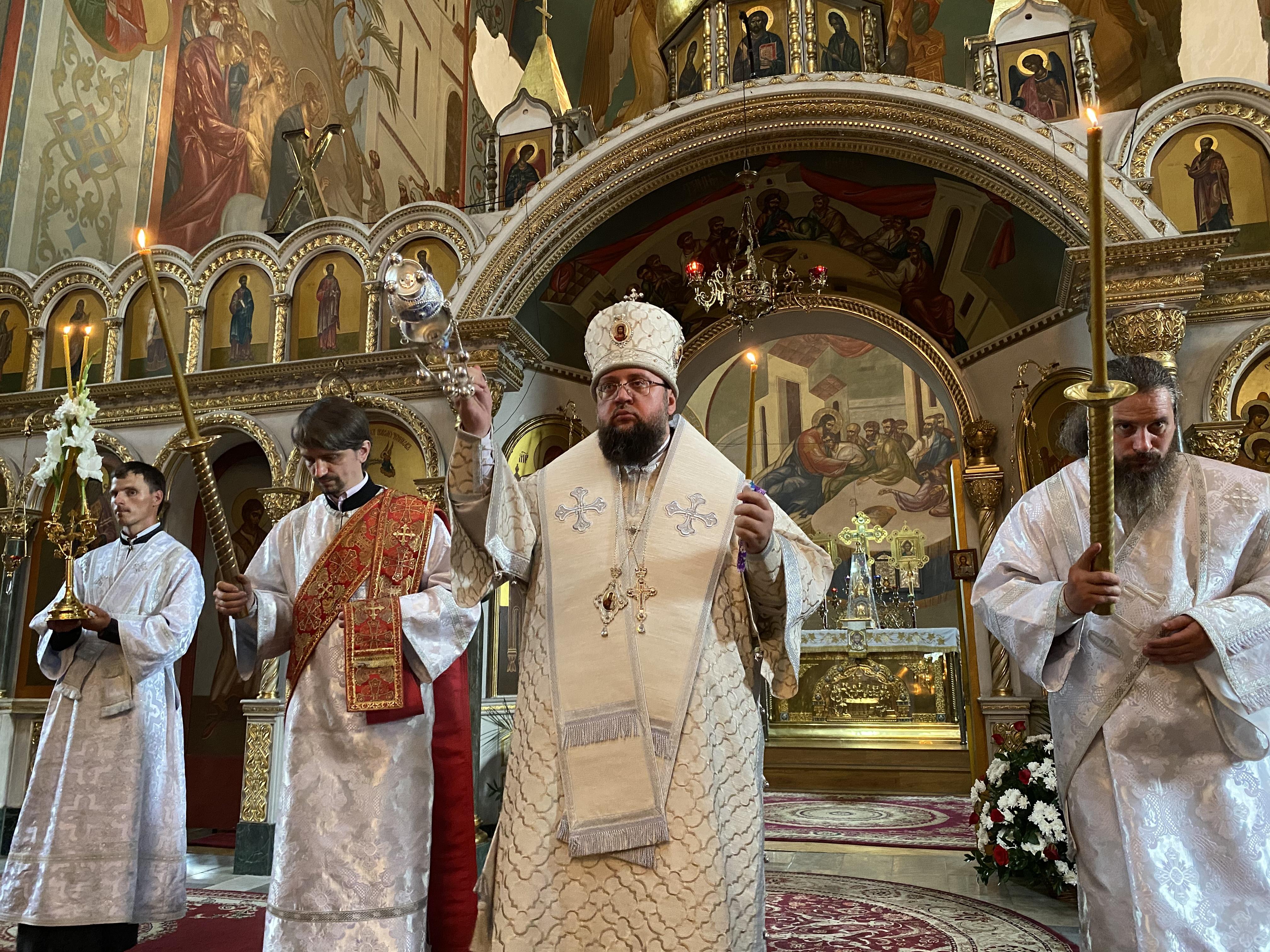 Єпископ Білогородський Сильвестр взяв участь у богослужінні у 40-й день упокоєння митрополита Черкаського і Канівського Софронія