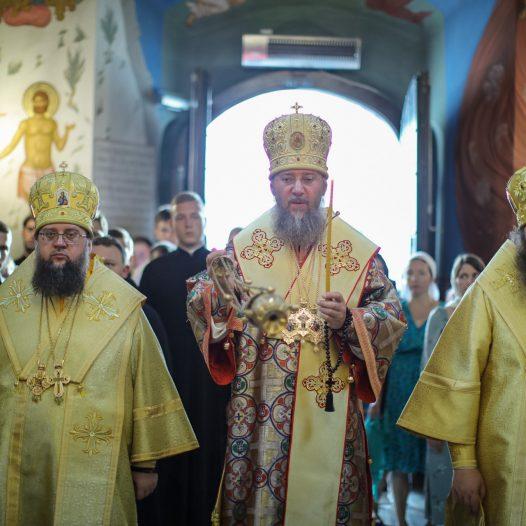В КДАіС звершено соборне богослужіння напередодні Неділі 5-ої після П'ятидесятниці